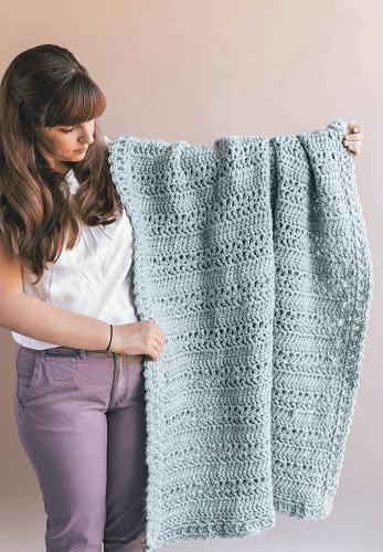 Crochet Fireside Afghan Pattern by Sewrella