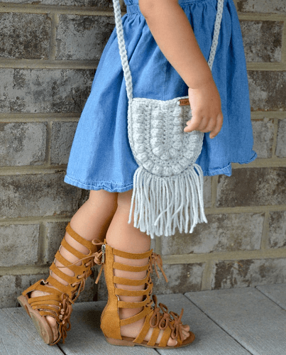 Crochet Toddler Purse Pattern by A Crafty Concept