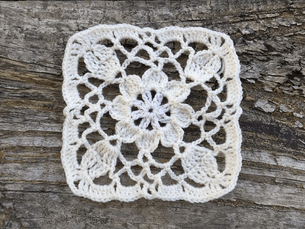 Duchesse Crochet Square Pattern by Beauti Wool Treasures