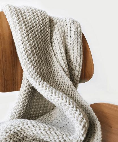Kenscoff Throw Crochet Pattern by De Brosse NYC