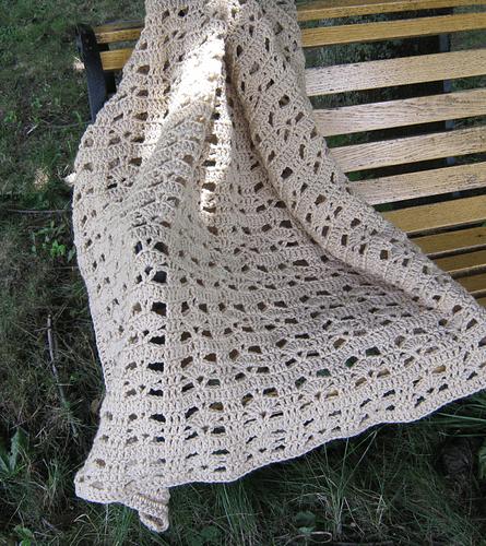 Ocean Tranquility Afghan Crochet Pattern by Anastacia Zittel