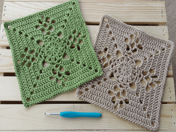 Victorian Lattice Square Crochet Pattern by Destany Wymore