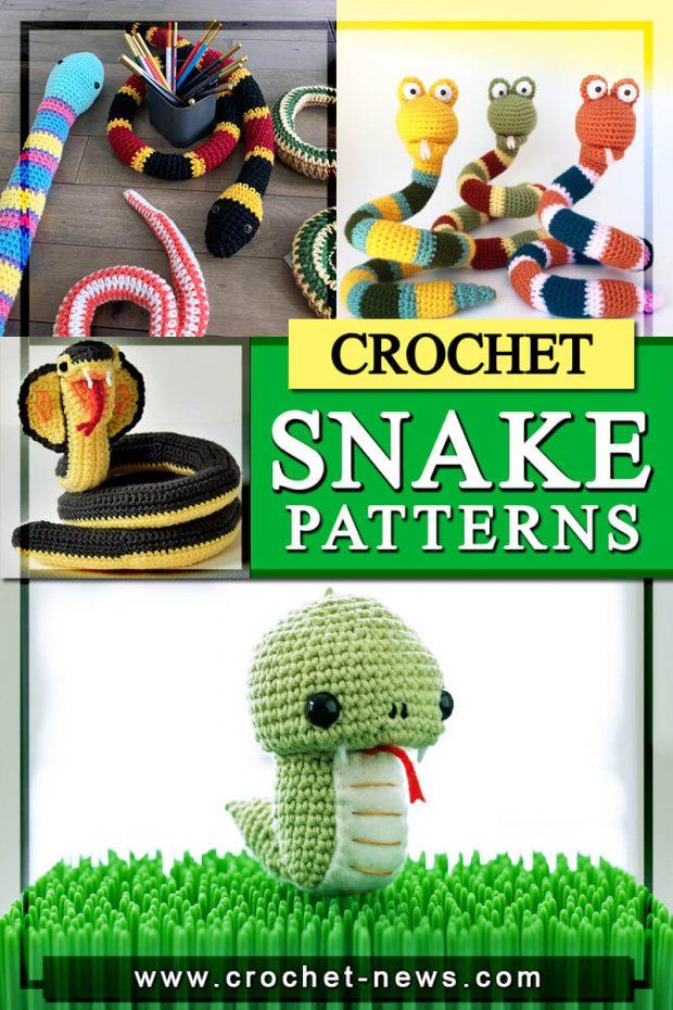 crochet snake patterns