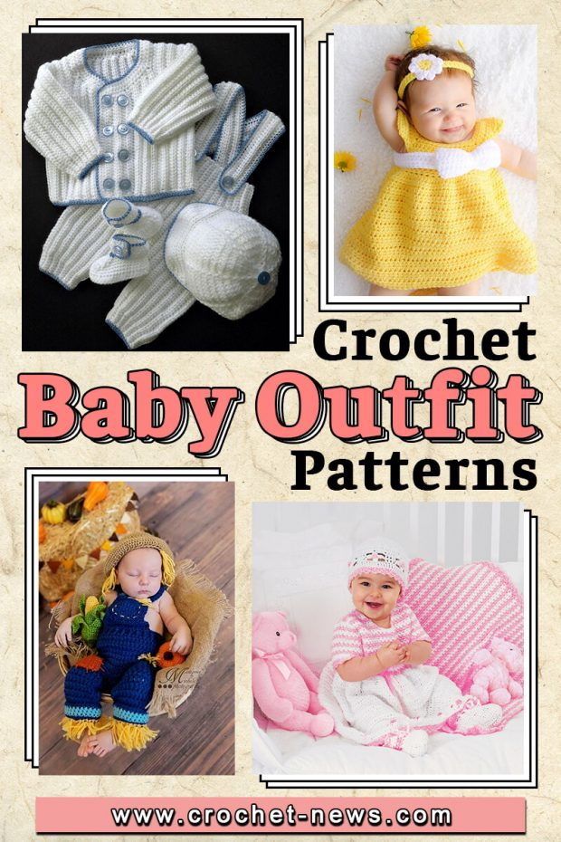 crochet baby outfit patterns