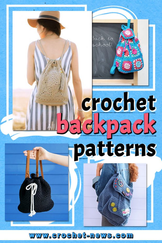 CROCHET BACKPACK PATTERNS
