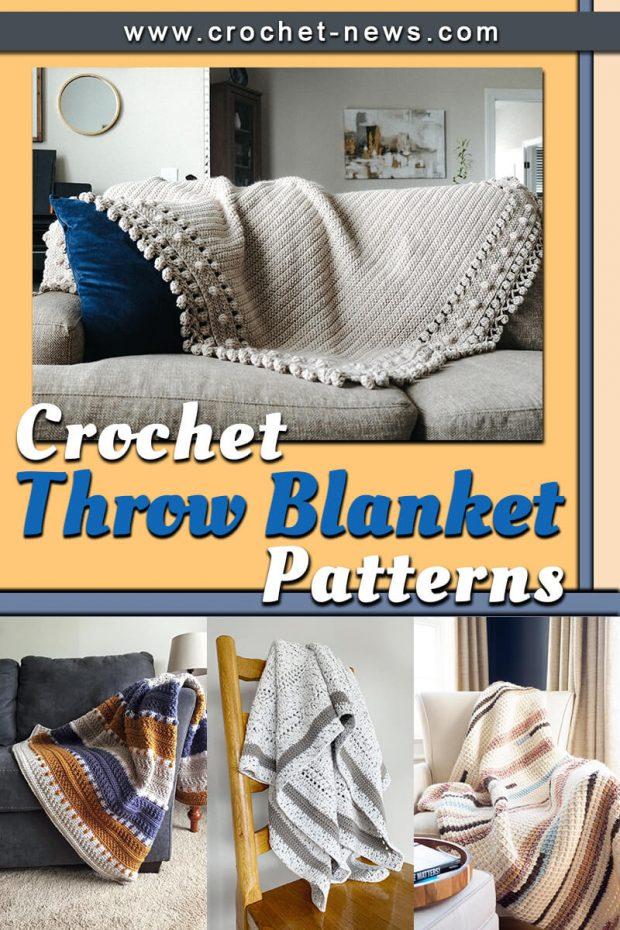 crochet throw blanket patterns