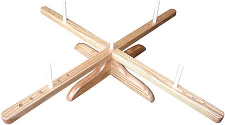 CHIAOGOO 1098 Amish Design Wooden Yarn Swift from Amazon