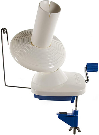 Stanwood Needlecraft YBW-A Hand-Operated Yarn Ball Winder from Amazon