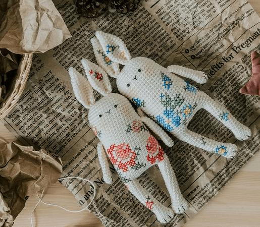 Amigurumi Bunny Pattern by Sami Snosami PDF