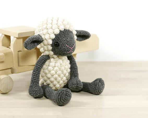 Amigurumi Crochet Sheep Pattern by Kristi Tullus