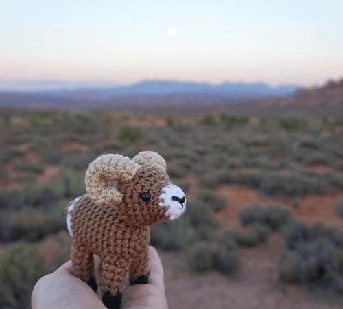 Bobby, The Bighorn Sheep Crochet Pattern by CCs Whimsical Crochet