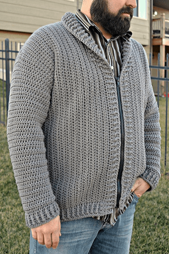 Cozy Coed Cardigan Crochet Pattern by Heart Hook Home