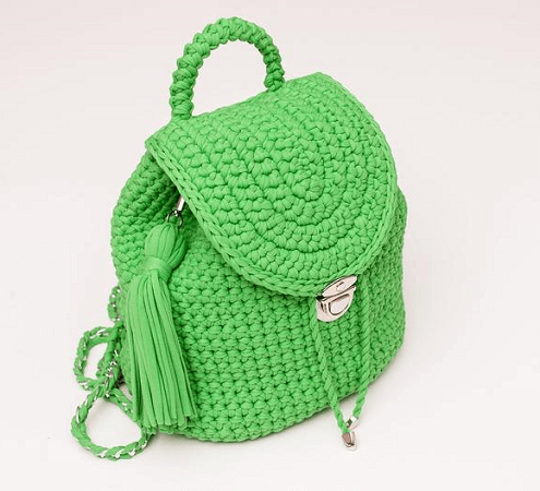 Crochet Backpack Pattern by I Love Create Store