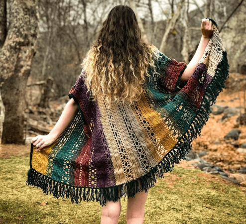 Crochet Boho Cardigan Pattern by Hooked On Tilly