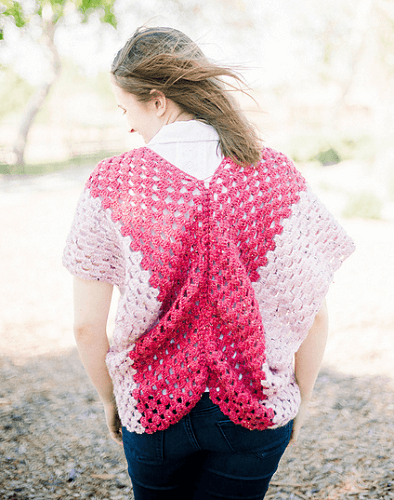 Butterfly Crochet Cardigan Pattern by E'Claire Makery