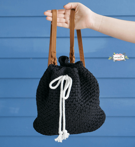 Crochet Daytripper Backpack Pattern by Sewrella