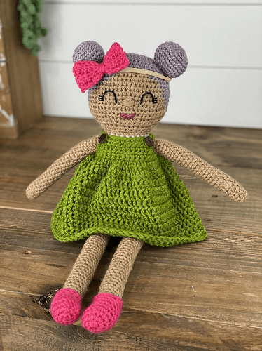 Crochet Doll Pattern by A Crafty Concept
