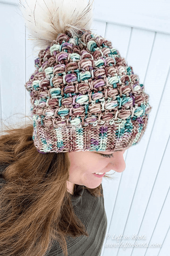 Fairytale Slouchy Beanie Pattern by Left In Knots