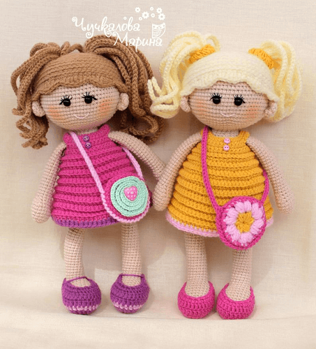 Crochet Pumposhka Doll Pattern by My Cro Wonders