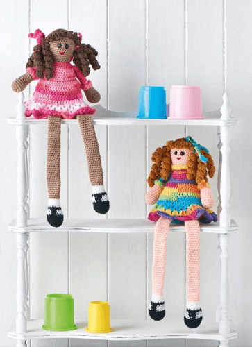 Crochet Sweet Dolls Pattern by Clare Trowbridge