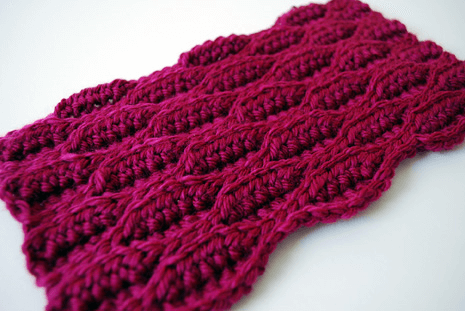 Textured Wave Stitch from B Hooked Crochet