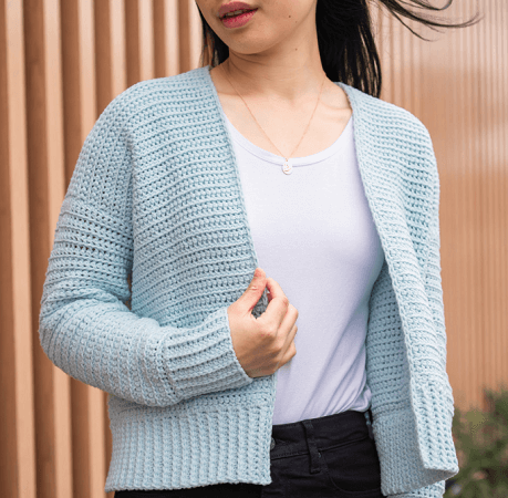 Cuddly Free Crochet Cardigan Pattern by For The Frills