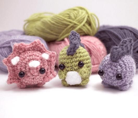 Dinosaurs Crochet Pattern by Mohu Store