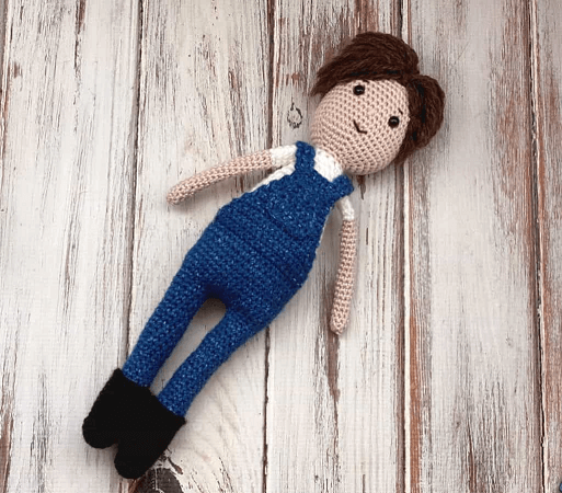 Free Crochet Doll Pattern by Love Life Yarn