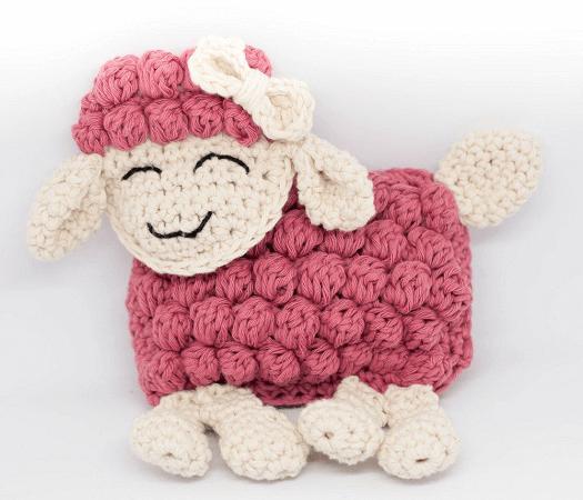 Free Crochet Ragdoll Lamb Pattern by Yarn Hild