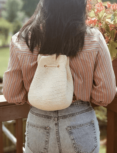 Kiersten Mini Backpack Crochet Pattern by Cosmaudi