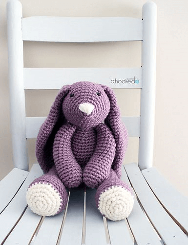 Layla Crochet Bunny Free Pattern by Bhooked Crochet