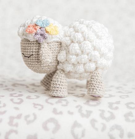 Shelby, The Lamb Crochet Pattern by Aradiya Toys