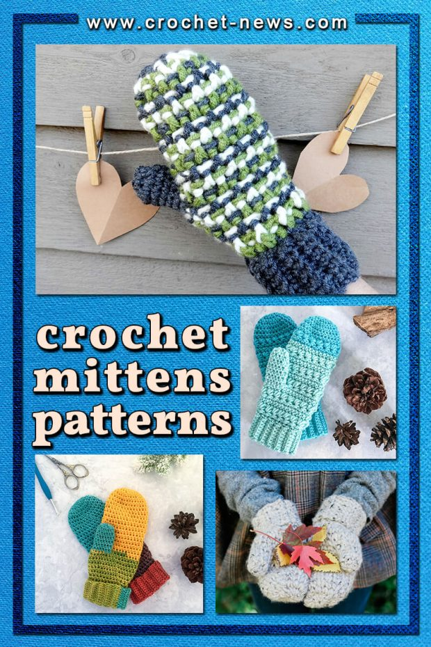CROCHET MITTENS PATTERNS