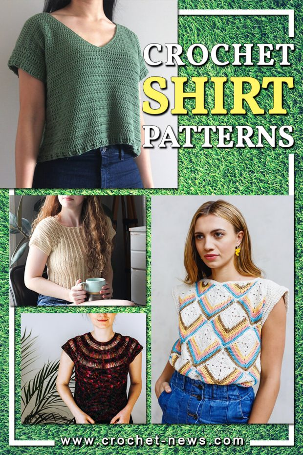 CROCHET SHIRT PATTERNS