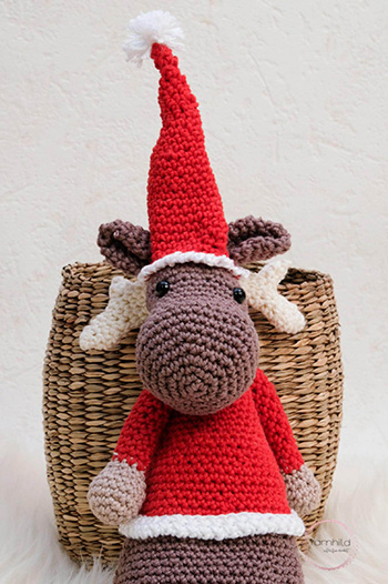 Einar Moose Crochet Pattern By Yarnhild