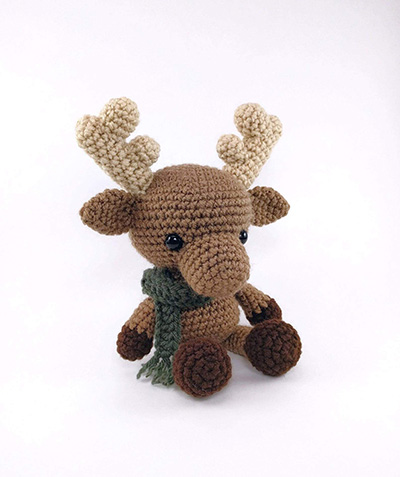 Myles the Moose Crochet Pattern By Theresas Crochet Shop
