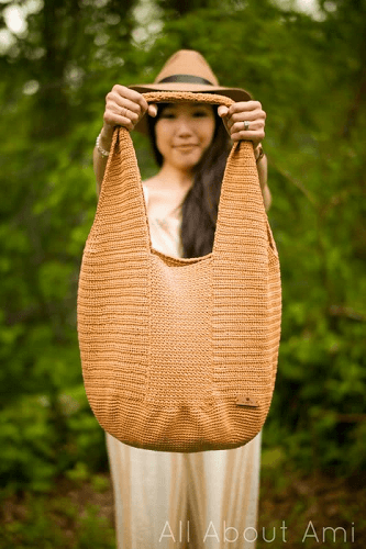 Camellia Tote Bag Crochet Pattern by Stephanie Lau