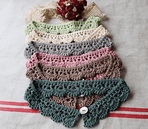 Celeste Crochet Necklace Pattern by Loopy Mabel