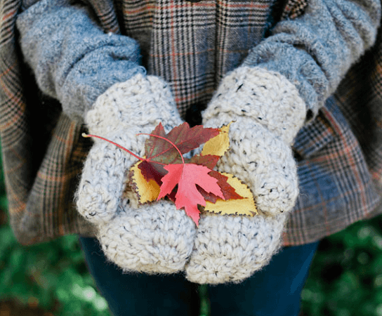 Chunky Crochet Mittens Pattern by Make And Do Crew