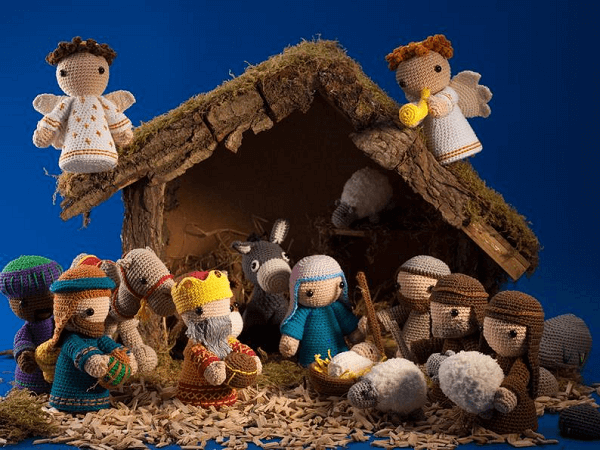 Complete Nativity Scene Crochet Pattern by Amigurumisnl