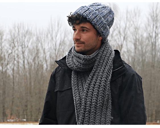 Easy Crochet Scarf Pattern by Jonna Martinez Crochet