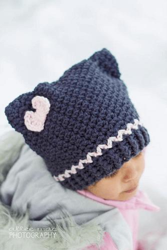 Fast Cat Hat Crochet Pattern by Bowtykes