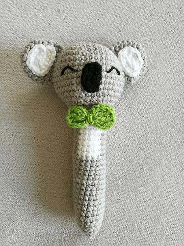 Koala Rattle Free Crochet Pattern by Zuzanna Pabin