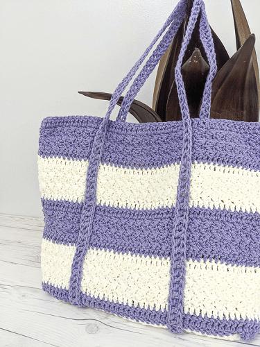 Largo Tote Bag Free Crochet Pattern by Salty Pearl Crochet