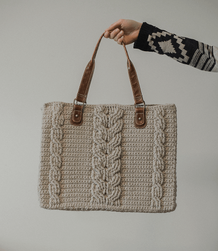 Matilda Tote Bag Free Crochet Pattern by Megmade With Love