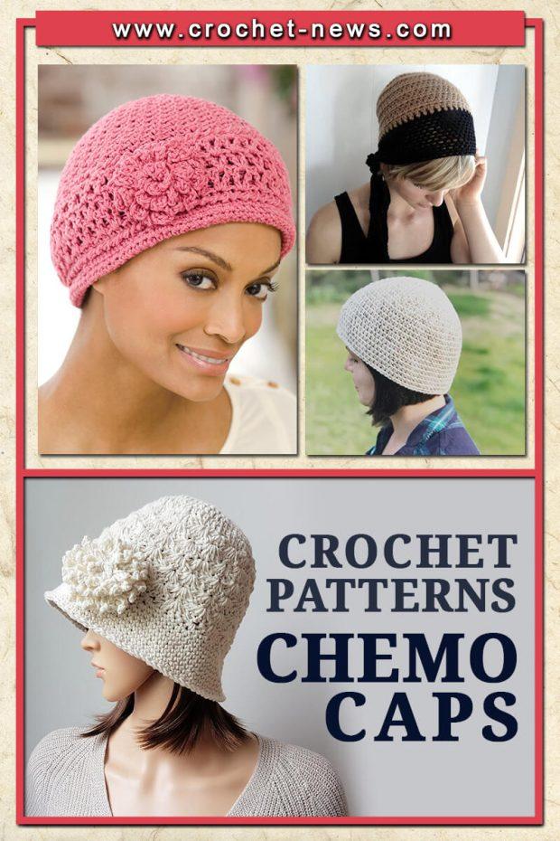 CROCHET CHEMO CAPS PATTERNS