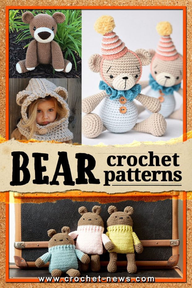CROCHET BEAR PATTERNS