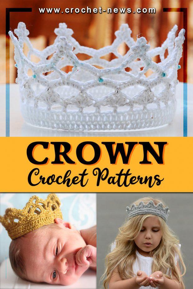 CROCHET CROWN PATTERNS