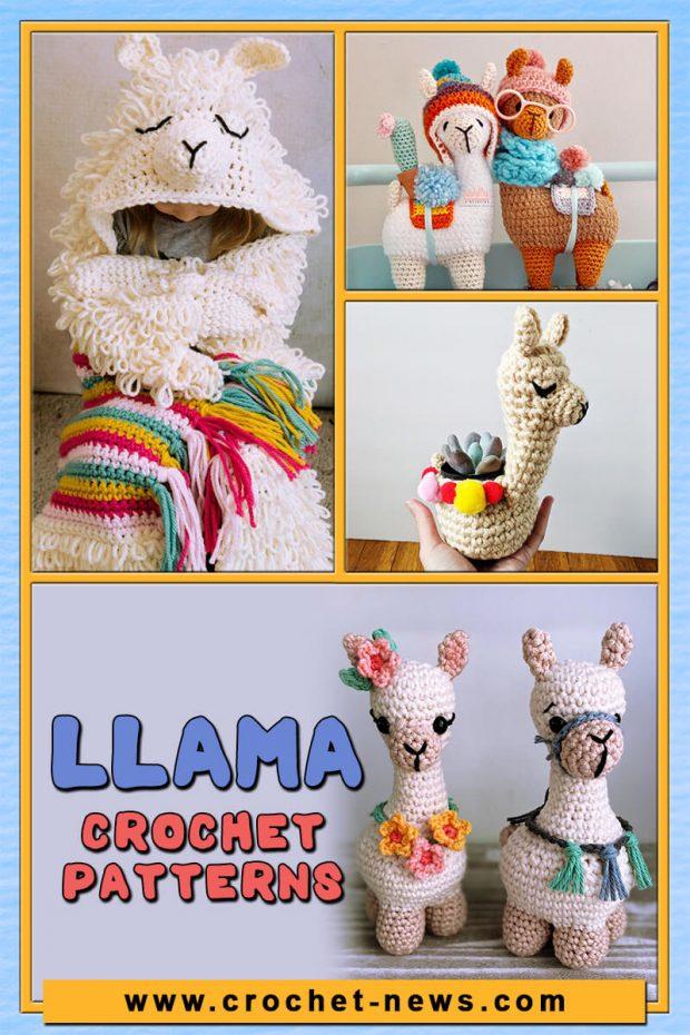 LLAMA CROCHET PATTERNS