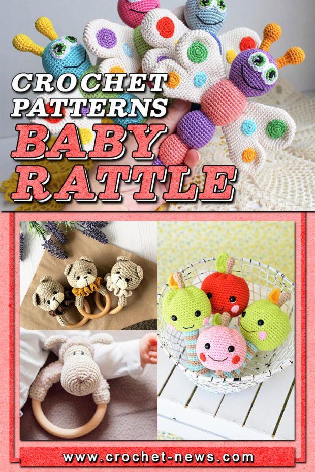 CROCHET BABY RATTLE PATTERNS
